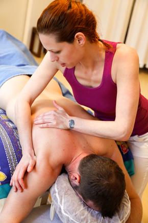 Klassische Massage Rückenmassage 2