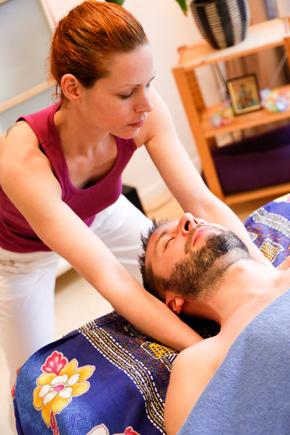 Klassische Massage Nackenmassage