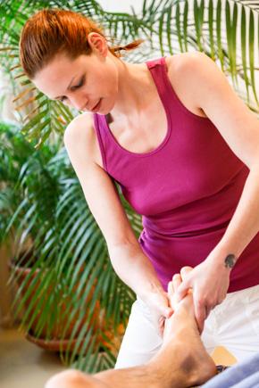 Klassische Massage Fussmassage