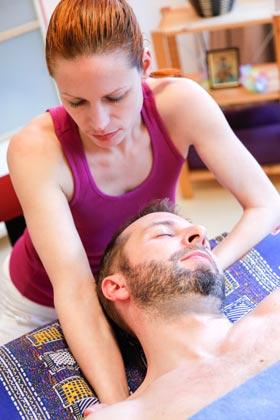 Sportmassage Nacken